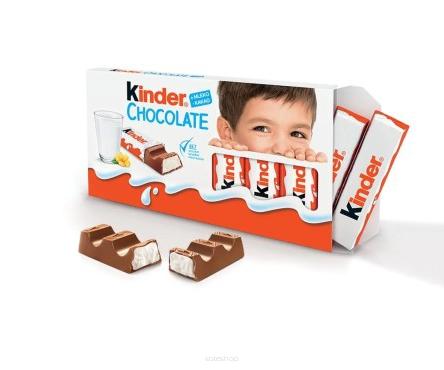 Ferrero Kinder Czekolada 100g