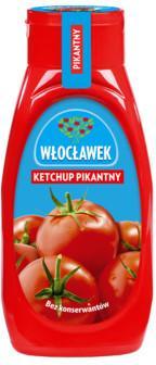 Ketchup włocławek 480g asortyment